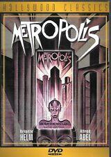 Metropolis (Dvd, 1998) Hollywood Classics W/ Free Shipping