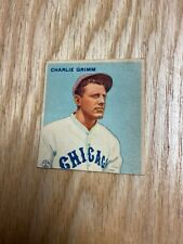 1933 Goudey Charlie Grimm Chicago Cubs Card #51