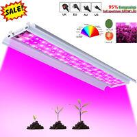 1200W 168LED Grow Light Full Spectrum Hydroponic Indoor Plants Veg Bloom Lamp KK
