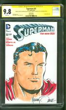Superman 32 CGC SS 9.8 Mike Zeck Original art Sketch Variant 8/14