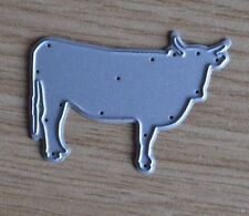 Metal Cutting Die - Cow With Horns BULL BISON Animal (Wild)