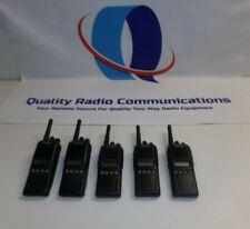 Lot of FIVE Kenwood TK-3180-K 450-520 MHz UHF Two Way Radio TK-3180