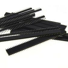10x Single Row Male and Female 40 Pin Header Strip 2.54mm for DIY PCB Board