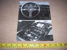 BMW M3 Engine Photo 1987-8 Press Pack CAR BROCHURE Details Multi Language