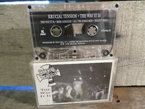 The Way It Is by Krucial Tension (Cassette) 1992 Indie Metal