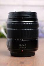 Panasonic H-FS14140K 14-140mm f/3.5-5.6 Lens with Both Caps