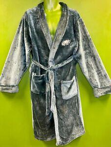 M556/800 NFL Philadelphia Eagles Bathrobe Dressing Gown Soft & Cosy OSFA
