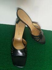 Jane Shelton Black Slip On Shoes Uk6