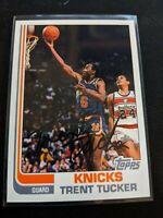 1993 TOPPS Archives Trent Tucker Auto #24 Rookie RC Knicks Bulls