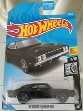 Hot Wheels - '69 Dodge Charger 500 (Rod Squad 9/10) Best For Track