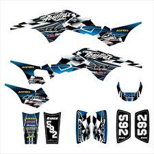 TRX250R Graphics TRX 250R 250 R decal sticker kit NO2500 Blue