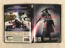 Final Fantasy XIV Online: A Realm Reborn (PC: Windows, 2013) Untested