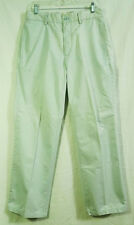 The Gap Light Baby Blue Relaxed Fit Flat Front Pants size 32 x 30