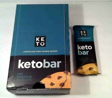 "Perfect Keto, Keto Bars ""Chocolate Chip""  (11 Bars Total)"