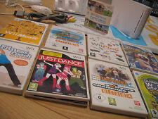 NINTENDO Wii CONSOLE - 702 GAMES / ACTIVITIES Bundle : Sports + Just Dance & MAT
