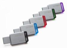 Kingston 128GB 64GB 32GB 16GB 8GB DT 50 Flash USB 3.0 3.1 Drive 110MB/s OTG Lot