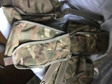 More details for 2 osprey mk4 molle fixing  sharpshooter mag pouches 7.62 rounds mtp grade 1