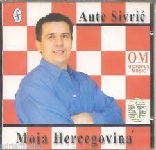 ANTE SIVRIC CD Moja Hercegovina Hrvatska Bosna Rodni kraj Mostar Neretva Ana Hit