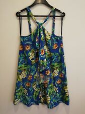 Forever New Sz 8 Women's Party/Cocktail  Dress Multi-Coloured Floral tropical