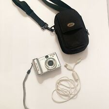Canon PowerShot A95 5.0MP Digital Camera Silver - Working Pre-Owned With Bag