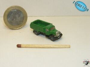 Opel Blitz 1940 Truck Z scale 1/220 Hand-painted Metal Model