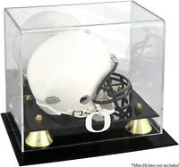 Ducks Golden Classic Logo Mini Helmet Display Case - Fanatics