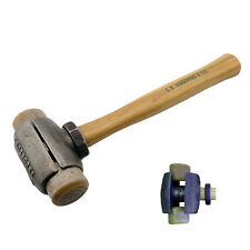 C.S. Osborne Rawhide Split Head Hammer #395-3R, Size 3, Made In USA
