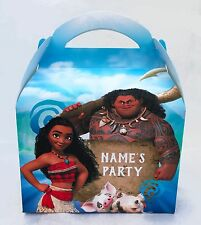 Moana Personalised Children Party Boxes Gift Favour 1ST CLASS POST