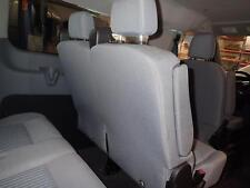15 16 17 TRANSIT 150: 2nd Seat, Rear Seat, Bench, 4 Door, XLT, Gray CK, Cloth