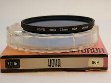 Hoya 72mm Standard 80A Blue Filter, London