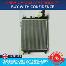 RADIATOR TO FIT HYUNDAI GETZ PETROL FOR MANUAL VEHICLES 372mm by 320mm CORE