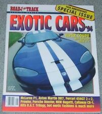 ROAD & TRACK 1994 EXOTIC CARS - CALLAWAY, MACH III