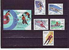 Cambodge-SG1351-MS1356 neuf sans charnière 1994 Jeux Olympiques d'hiver de Lillehammer
