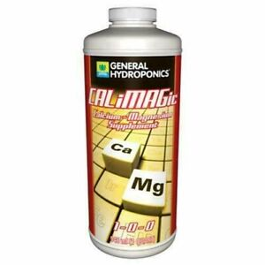 General Hydroponics CaliMagic 1 Quart -calcium magnesium calmag