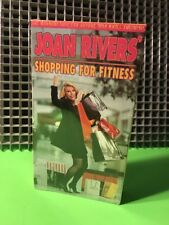 JOAN RIVERS Shopping For Fitness-VHS Comedy OOP NEW SEALED