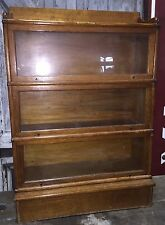 Rare 1900s Antique Oak Barrister Lawyers The Wernicke System Elastic Bookcase