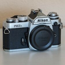 Nikon FM3A 35mm SLR Film Camera – Body Only – Tested / Fully Functional