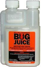 BUG JUICE Paint Additive Eliminate Crawling InsectsTreats 5 Gallons  FREE SHIP