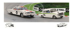 JIM CLARK JACK SEARS FORD GALAXIE v LOTUS CORTINA STUNNING
