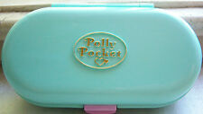 Vintage Polly Pocket Babysitting Stamper Set w dolls Bluebird Toys