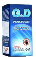 G.D.  Head Lice  Treatment Shampo  by British company BHI