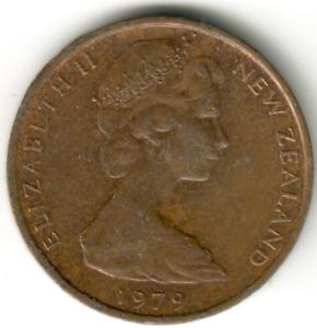 New Zealand - 1c -1979 - #1