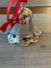 Towle Silversmiths Christmas 2007 Bell Shaped Ornament Music Box Silent Night