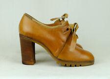 Original Vintage Schuhe für Damen aus Leder mit 36 Größe