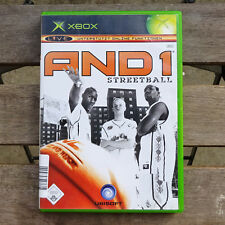 AND1 Streetball XBOX Classic mit Anleitung Original PAL Game Basketball And 1