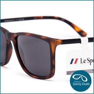 NEW Le Specs Tweedledum Matte Tort Grey Blue (1402184) Sunglasses