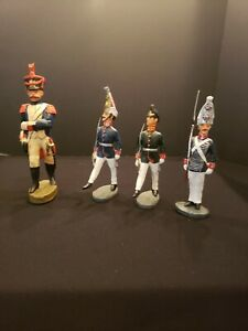 4 DAN BOLINE composition figures (1 is 120 mm & 3 are 90 mm)...RARE!