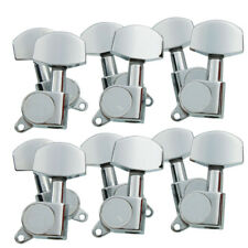 12pcs Chrome Guitar String Tuning Pegs Tuners Machine Heads 2 Sets