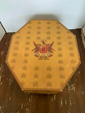 Vintage Knox New York Cardboard Hexagon Hat Box
