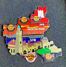Hard rock cafe hamburgo HRC 5th anni rock Shop-rock The Dock puzzle pin set!!!